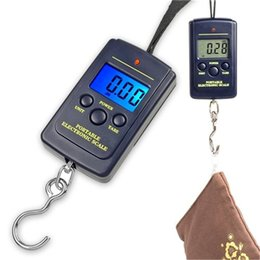 Wholesale Electronics Prices NZ - 20g-40Kg Digital Hanging Lage Fishing Weight Scale kitchen Scales cooking tools electronic new models wholesale price good quality