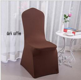White Wedding Chairs For Sale Australia - 100 pcs Universal White Polyester Spandex Wedding Chair Covers for Weddings Banquet Folding Hotel Decoration Decor Hot Sale Wholesale