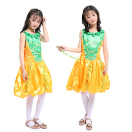 Wholesale cos clothes for sale - Group buy Children s Cos Pumpkin Princess Dress Girls Masquerade Witch Show Clothes Dresses for Christmas Birthday Party Halloween Kid s Costume