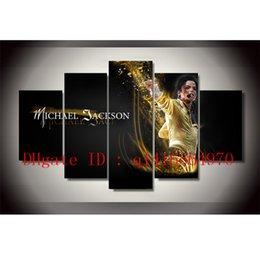 michael paintings UK - Michael Jackson -2,5 Pieces Canvas Prints Wall Art Oil Painting Home Decor  (Unframed Framed)