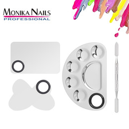Palette Spatula Whole Australia Monika Makeup Nail Art Manicure Artist Tool Stainless