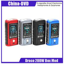 Dual pro batteries online shopping - 100 Original LostVape Modefined Draco W Box Mod Dual battery vape vaporizer for freemax fireluke pro tank E cigarette Mods