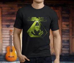 Music Man T Shirt Australia - New Overkill Metal Rock Band Music Men's Black T-Shirt Asian Size S 3XL T Shirt Funny T-Shirt Men