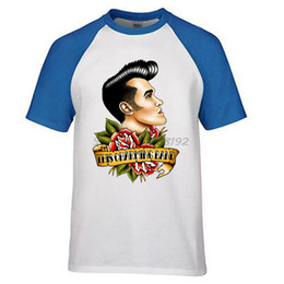 Pop Tees Canada - rock band the smith morrissey everyday is like sunday hand drawing pop style streetwear brand men summer t shirt male top tees
