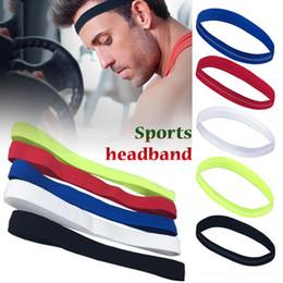 c73a51f1edab9 1PCS Unisex Elastic Head Sweatband Non-slip For Men Women Yoga Hair Bands  Running Sweat Bands Fitness Headband