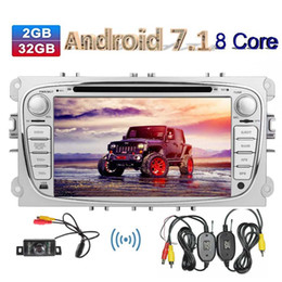 navigation camera NZ - Double Din Car dvd Radio In Dash 7''Android Octa core Car Stereo GPS Navigation Bluetooth AM FM RDS Radio DAB+ MirrorLink wireless camera