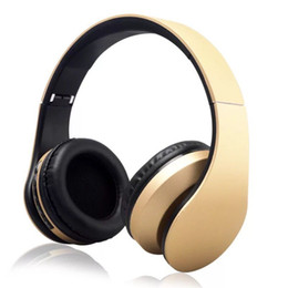 Wired headphones for radio online shopping - LH Wireless bluetooth earphone in Bluetooth EDR Headphones with MP3 Player FM radio Micphone for Smart Phones PC V1267