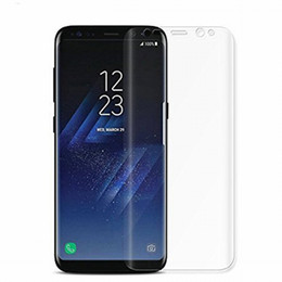 10 UNIDS Para Samsung Galaxy Note 8 S8 Plus S7 edge S6 S8plus note8 Protector de pantalla TPU Silicona Full Cover Film Protection