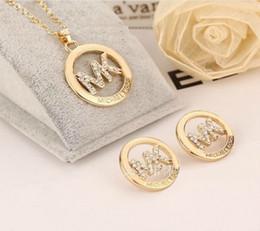 Großhandel Frauen Modemarke Schmuck Design Ohrringe Für Pandora 925 Sterling Silber Kristall Diamant Womens Stud Ohrringe Set