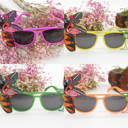 Hawaii dress online shopping - Summer Sunglasses Hawaii Sandy Beach Pineapple Hula Flamingo Plastic Glass Party Ball Modeling Dress Up Accessories qt UU
