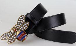 $enCountryForm.capitalKeyWord Canada - Honey bee Free shipping 2018 designer belts men high quality luxury leather belt men women hot Buckle ceinture homme mens belts luxury