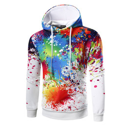 China Spring 3d Printed Hoodies Fitness Mens Hoodies Sweatshirts Long Sleeve Hip Hop Hombre Casual Men Clothing M-3XL cheap prints color suppliers