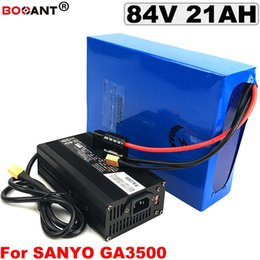 Motor Bicycles Australia - 84V 20AH E-bike Lithium Battery for Bafang 2000W Motor For Original Sanyo 18650 cell Electric Bicycle Battery 84V Free Shipping