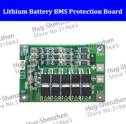 Discount battery bms - NEW 3S 11.1V 12.6V 18650 Li-ion Lithium Battery BMS Protection Board Enhanced Version 40A w Balance AUTO Recovery