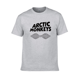 arctic monkeys shirt UK - 2018 Hot Arctic Monkeys Letters Print Women Men T-shirt Cotton Casual Shirt For Lady White Black Top Tee