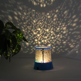 Discount star starry sky lights - LED Projector Stage Light Flashing Lamp Colorful Sky Star Master Night Light Lovely Sky Starry Star Projector Novelty Gi