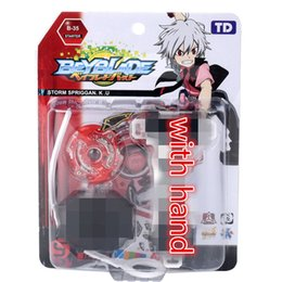 Discount beyblade battle sets - B 48 original beyblade Toy for sale Burst Starter B-48 Xeno Xcalibur M.I Beyblades with Stater set High Performance Batt