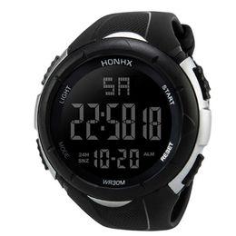 $enCountryForm.capitalKeyWord NZ - Luxury Men Analog Digital Army Sport LED Waterproof Wrist Watch Accurate to second men's watches waterproof jam tangan