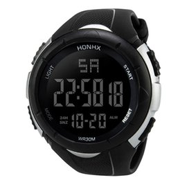 Men Digital Wrist Watches Australia - Luxury Men Analog Digital Army Sport LED Waterproof Wrist Watch Accurate to second men's watches waterproof jam tangan