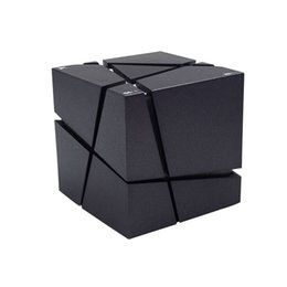 China New Qone Mini Cube Speakers 3D Stereo Sound Portable Bluetooth Speaker Wireless Music Box Support TF Card With Retail Box Better Charge 3 cheap mini cube speakers suppliers