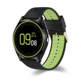 $enCountryForm.capitalKeyWord Canada - Smart Watch V9 DZ09 clock With Camera Bluetooth Connected SIM Card Smartwatch For IOS Android Phone PK GT 08 DZ 09 Sport watch