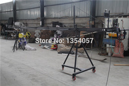 Motorized Cameras NZ - Professional DV Camera Crane Jib 3m 6m 8m square for Video Camera filming with 2 axis motorized head