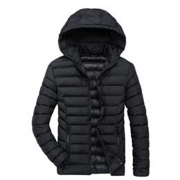333faf4b660 Mens Down Parkas Winter Jackets Hooded Warm Down Coat Thicken Outwear  Overcoat Windbreaker Thicken Tops 2018 XL XXL XXXL XXXXL
