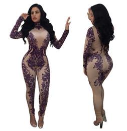 8b4635808c9 New Stylish Retro Rompers Women Jumpsuit Long Sleeve Print Sexy Jumpsuit  Full Length Combinaison Pantalon Femme Elegante A8216