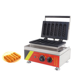 Hot dog maker macHine online shopping - BEIJAMEI New Arrival Commercial Muffin Hot Dog Machine Electric Lolly Waffle Maker Waffle Hot Dog Machine Price
