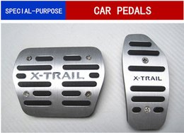 Pedals Nissan Australia - Auto Accessories Aluminium car pedals For Nissan X-trail Rogue T32 2014-2018 car accelerator pedal foot skid plate Gas pedal