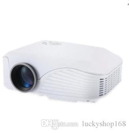 Projector Remotes NZ - New H88 LED Projector 1000 Lumens Projector 1080P Projection Machine with USB HDMI VGA AV Micro SD Slot Remote Controller Mini Cool DHL