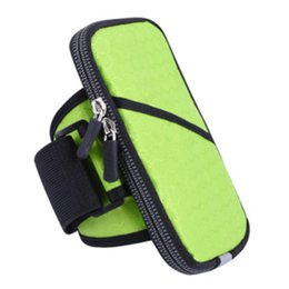 China Running Sports Cycling Jogging Gym Armband Arm Band Holder Bag For 6 inch Mobile Phones cheap bag for cycling gym suppliers