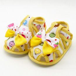 cc0cf2037379 Flower Kids Sandals For Girls Summer Princess Shoes Baby Toddler Children  Soft Cotton Fabric Sandal Girl Shoes j2 affordable cotton fabrics for babies