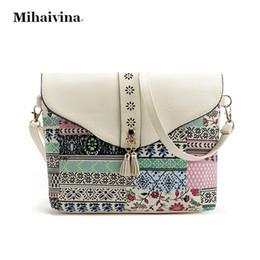 4768e43d19a8 Canvas Leather Crossbody Bag Canada - New Fashion Women Canvas Bags Retro  Messenger Bag Women Shoulder