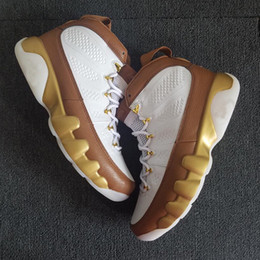 Mop gold online shopping - 2018 New Mop Melo Men Basketball Shoes s Gold Brown Designer Sports Sneakers with BOX
