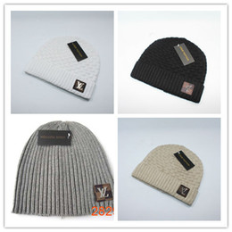Beanie hats for cheap online shopping - Cheap Hot New luxury brand Color  Brand Winter Hat 8885516a6535