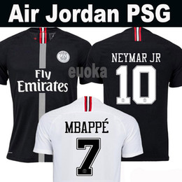 Woman jersey yelloW online shopping - Thailand maillots PSG soccer jersey Paris rd third MBAPPE saint germain NEYMAR JR jersey Survetement football kit shirt women