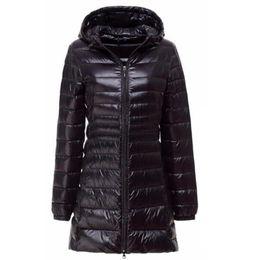$enCountryForm.capitalKeyWord Canada - Down Parka 2018 New Brand Winter Down Jacket Women Long White Duck Down Jacket Outwear Ultralight Hooded Thin Hat Coat 6XL 7XL