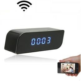 Беспроводной WIFI IP-камера 1080P HD часы Super Camera IR Security Network Mini Cam Главная безопасности видеокамеры видеонаблюдения видеорегистратор
