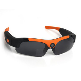 $enCountryForm.capitalKeyWord UK - 2pcs Lot 1080P Sunglasses SM16 Mini Camera Wide angle 120 degrees Black Orange Mini DV Camcorder DVR Video Camera Smart Glasses