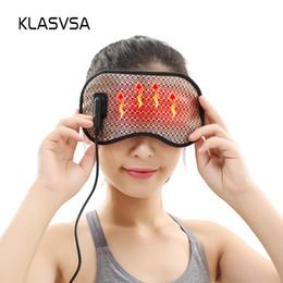 $enCountryForm.capitalKeyWord Australia - KLASVSA Electric Heating Tourmaline Eye Massager Far Infrared Negative Anion Eyes Facial Germanium Massage Mask Home Relaxation