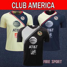 9a7db204f Neu eingetroffen 2019 LIGA MX Club America Heimtrikot 18 19 SAMBUEZA Tigres  Monterrey Xolos de Tijuana 201. O.Peralta Fußballshirt