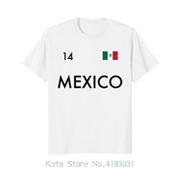 8493695b72a Mexico Flag T shirt Mexican Futbol Soccerite 2018 2018 New Pure Cotton Short  Sleeves Hip Hop Fashion Mens T shirt
