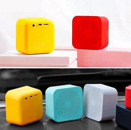 $enCountryForm.capitalKeyWord NZ - 2018 portable wireless car mobie phone speaker Colorful square Bluetooth Speaker Outdoor Gift Creative Mini Small Stereo