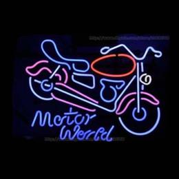 "$enCountryForm.capitalKeyWord NZ - Motorcycle Logo Motor World Sport Neon Sign Real Glass Tuble Light Motor Bike Store Shop Display Sale Advertisement Game Neon Signs 24""x20"""