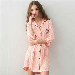 4f2c01ba37 Nightgown Long Nightdresses Australia - 2016 Brand Cotton Sleep Lounge Women  Sleepwear Indoor Clothing Long Nightgowns