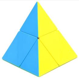 $enCountryForm.capitalKeyWord UK - Learning Development Training Educational Game Puzzle Cube Decompression Kids Good Gift Plastic Triangle Pyramid Magic Cube