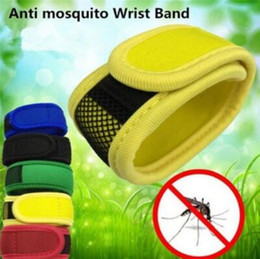 Fly bands online shopping - Anti Bug Mosquito Insect Repellent Bracelet Wristband With Refill Pellets Repellent Band Outdoor Insect Mosquito Killer CCA9971