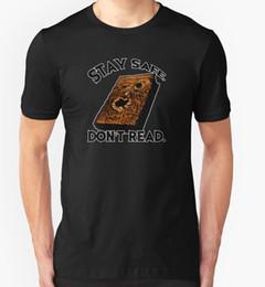 $enCountryForm.capitalKeyWord NZ - ASH VS EVIL DEAD T SHIRT STAY SAFE DON'T READ TV SERIES COMEDY HORROR T-Shirt Fashiont Shirt Free Shipping Top Tee PLUS SIZE