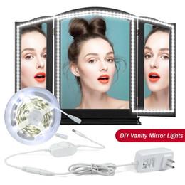 LED Vanity Mirror Light Kit,16.4ft,S shape LED Strip Lights for Vanity Mirror with Lights Dimmer&Power Supply,freely bendable